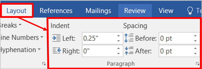 W superbly Indent, Line and Paragraph Spacing in MS-Word » DigiRuns EE21