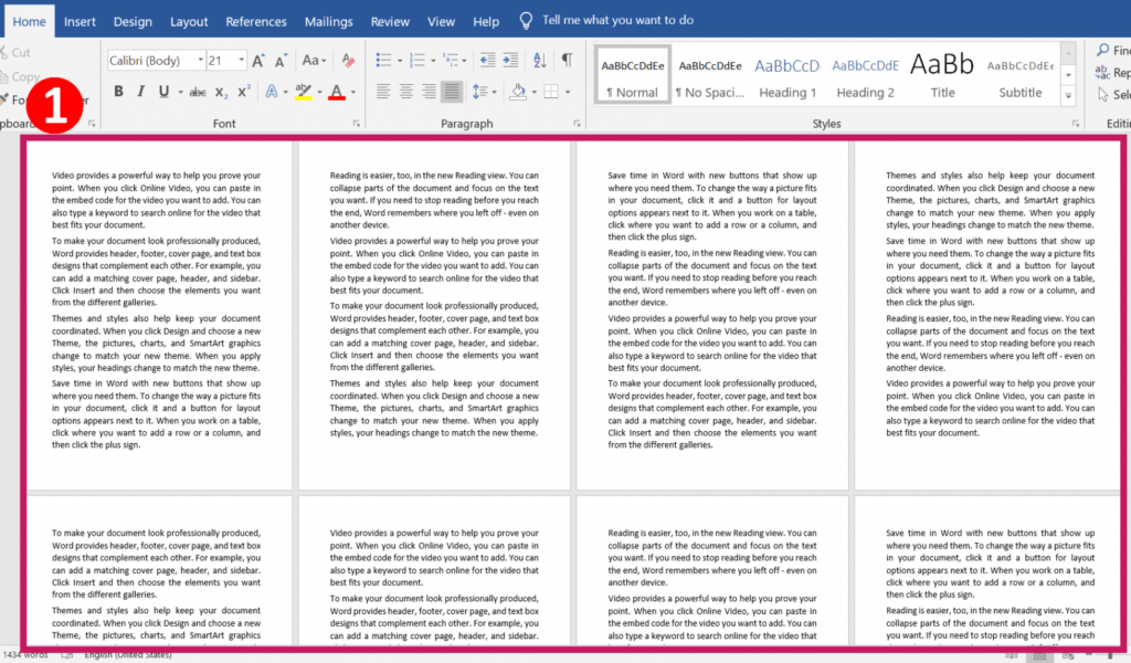 How to add pages with content in ms word | Different Headers and Footers for Different Pages in MS-Word