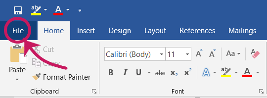 Change Color Theme in Microsoft Office Products
