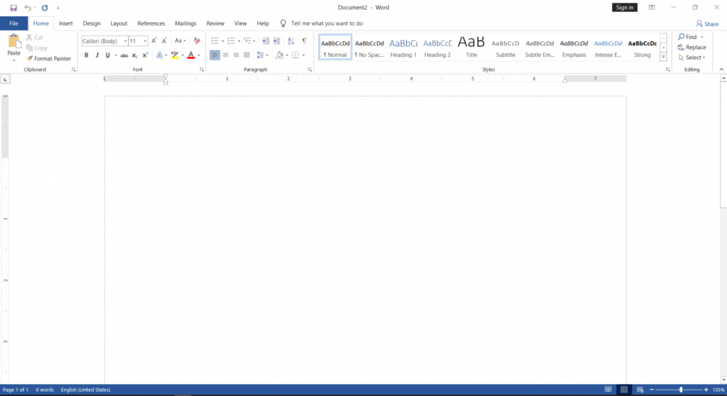 applying Change the Office Color Themes in MS-Office | White |