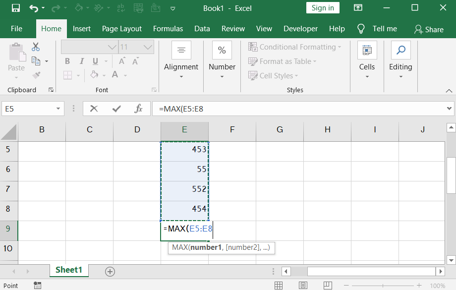How to use minimum and maximum functions in excel.png2