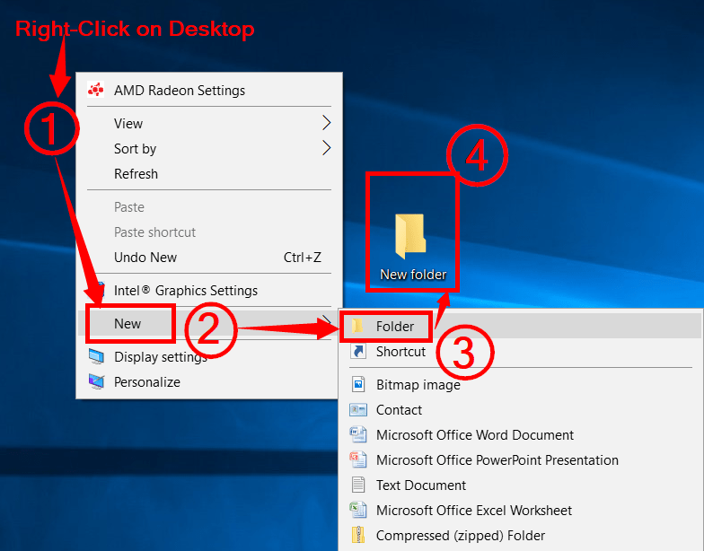 Ways to Create and Rename a Folder on Windows