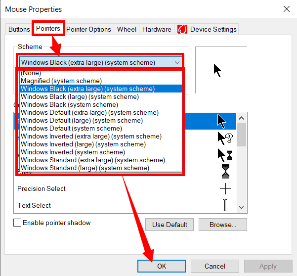 How to Change Mouse Pointer/ Cursor Speed and Size