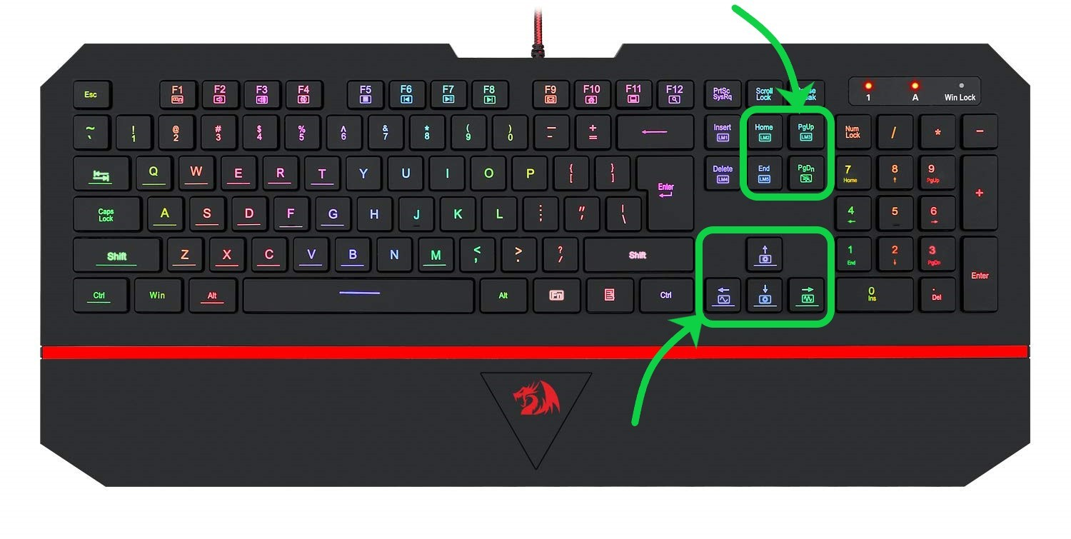 What are the Keyboard Navigation Keys?