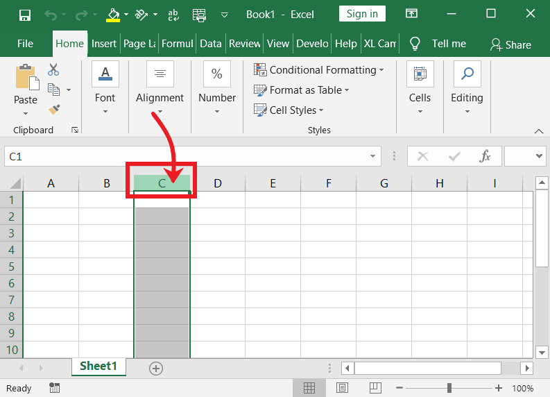 Selection Tips and Tricks in Excel