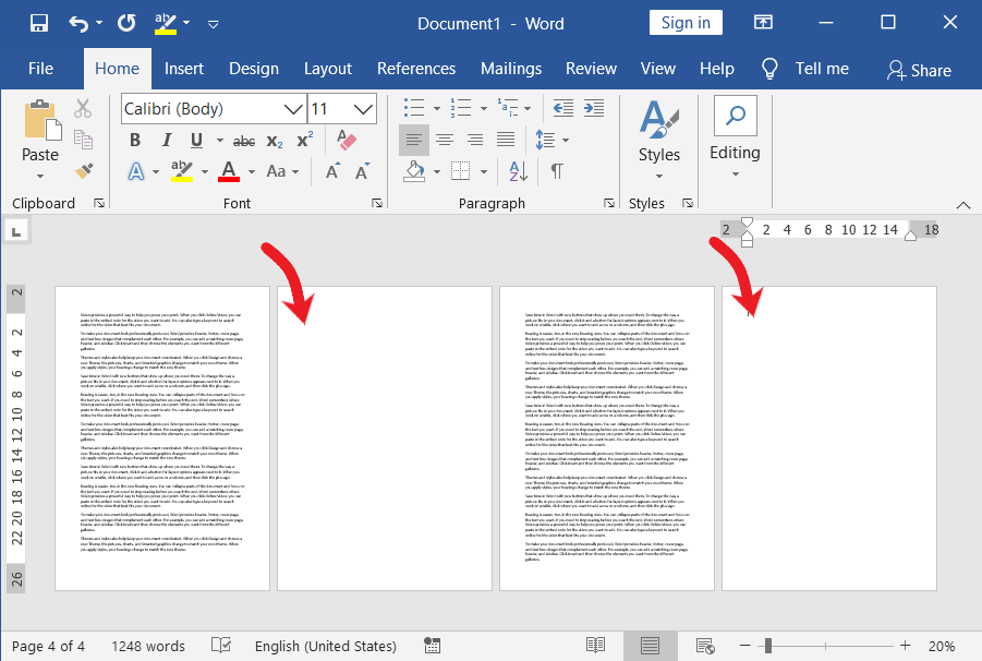 Delete-a-blank-page-in-microsoft-word-document
