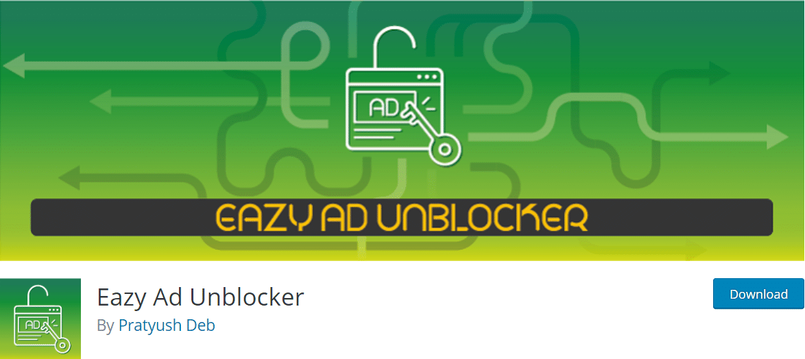 Unblock Ads in WordPress Website
