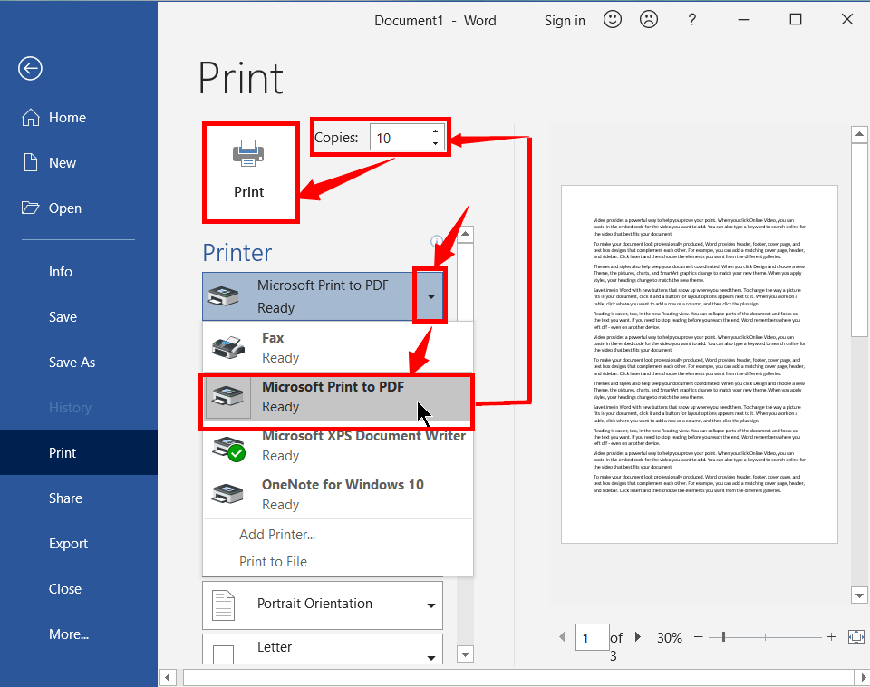 How to Print a Word Document and Ppt Slides - 2021's Master 15