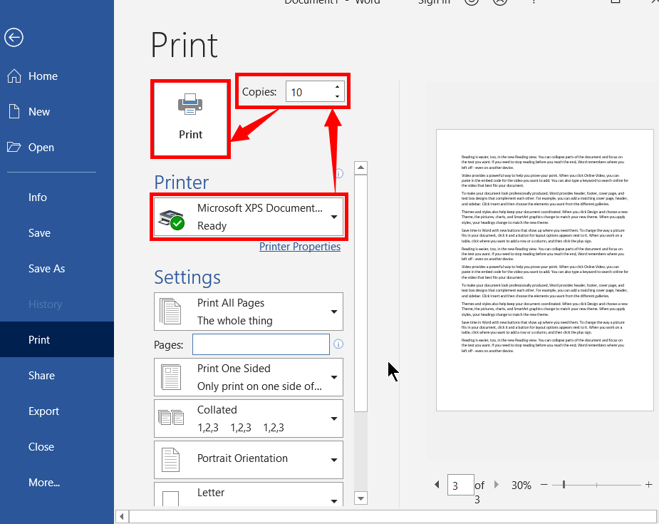 How to Print a Word Document and Ppt Slides - 2021's Master 16