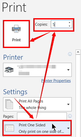 How to Print a Word Document and Ppt Slides - 2021's Master 7