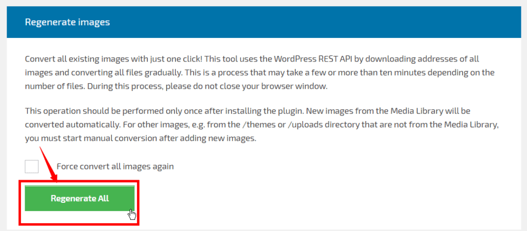 Convert Image to New WebP format to Speed Up WordPress Site 6